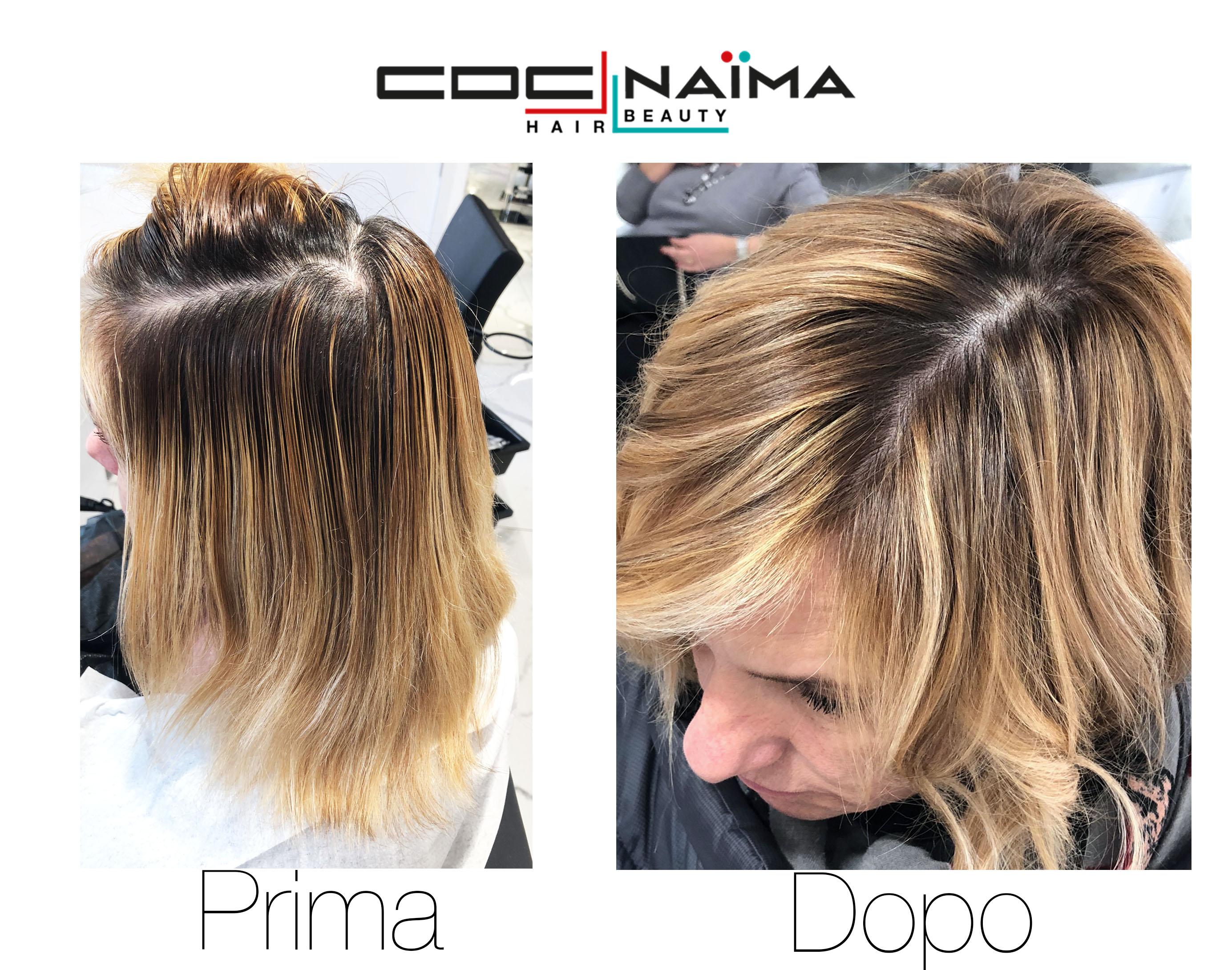 Con il Degradé Conseil il colore viene posizionato sui capelli in modo  verticale 6e918c5b65f1